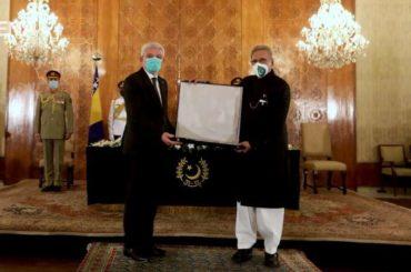 Predsjednik Pakistana uručio Džaferoviću najviše državno priznanje