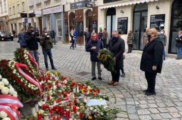 Turković u Beču položila cvijeće na mjestu terorističkog napada