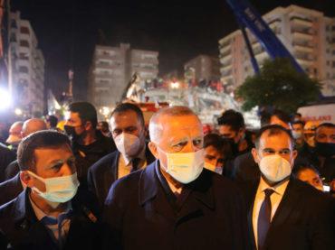 Erdogan posjetio područje pogođeno zemljotresom: Ispod ruševina spašene 103 osobe