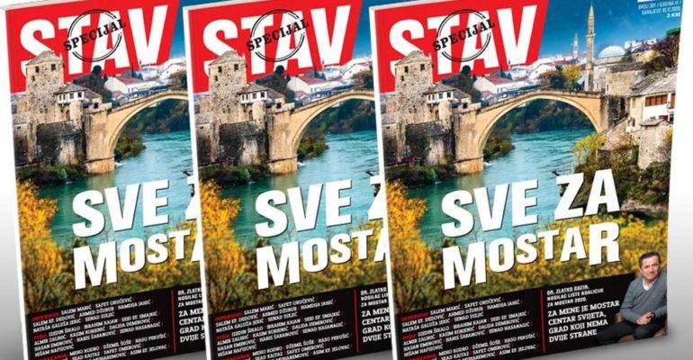 Specijalno izdanje Stava: SVE ZA MOSTAR