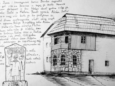 Predstavljanje nacionalnog spomenika 'Šantića vila na Borcima'